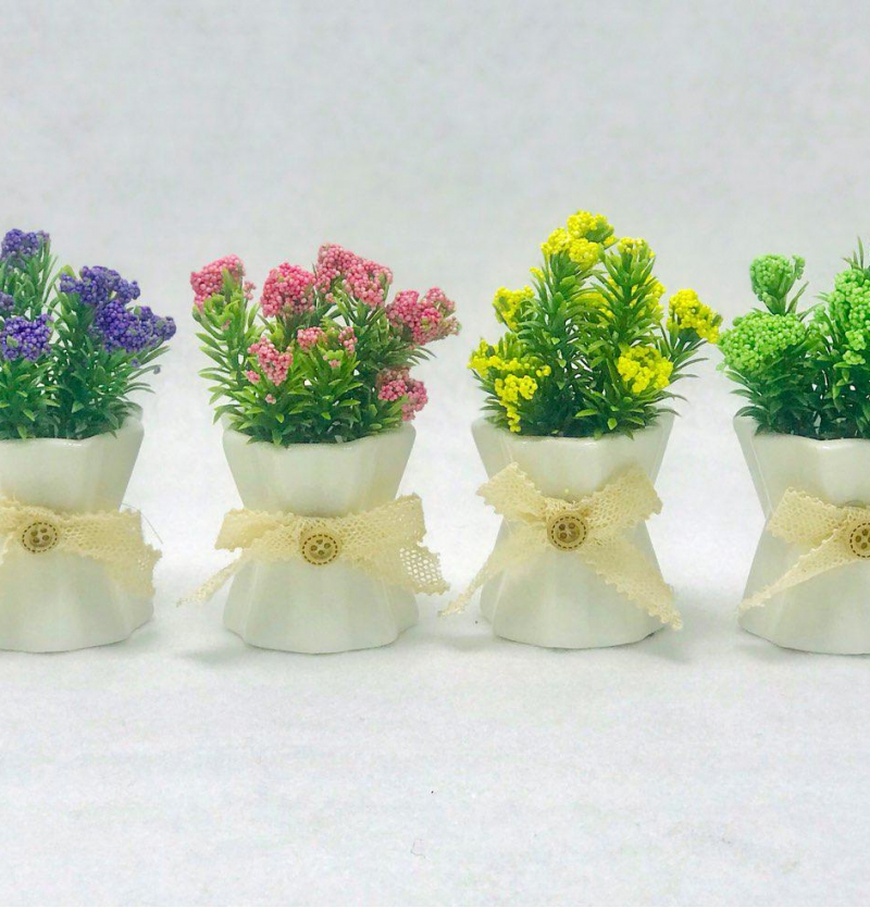 فروش عمده ست گلدان سراميك چين