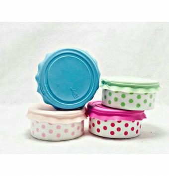 فروش عمده ظرف پلاستيكى در سيلكونى سايز ٣