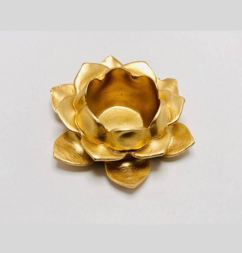 فروش عمده جاشمعی گل طلایی وارمر