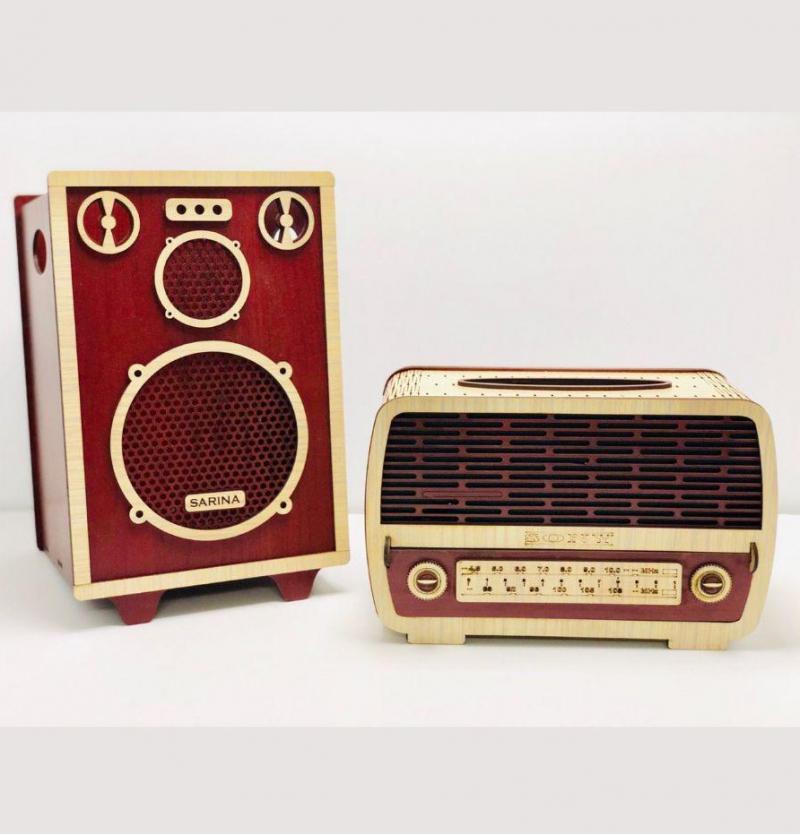 فروش عمده سطل و جادستمال رادیو
