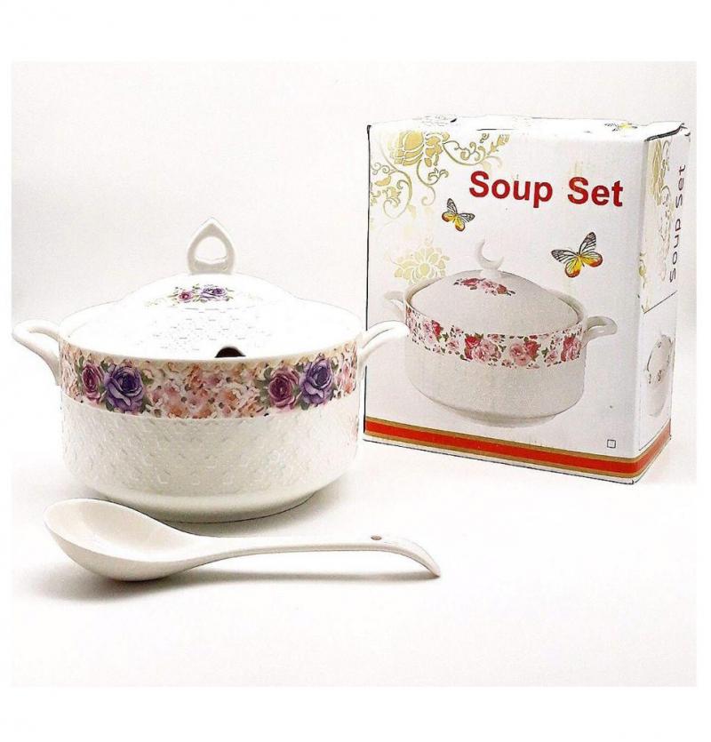فروش عمده سوپ خوری گلدار