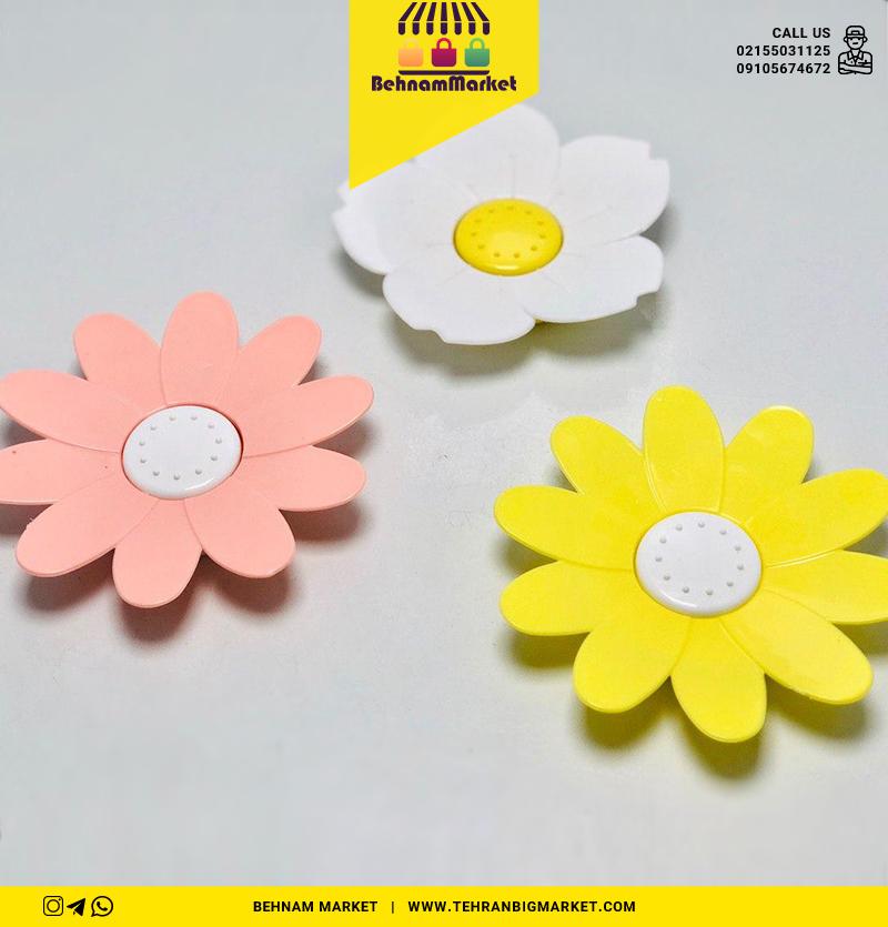 زير صابونی گل
