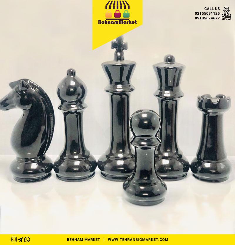 مجسمه شطرنج مشکی
