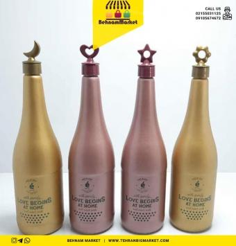 بطری طلایی رز گلد